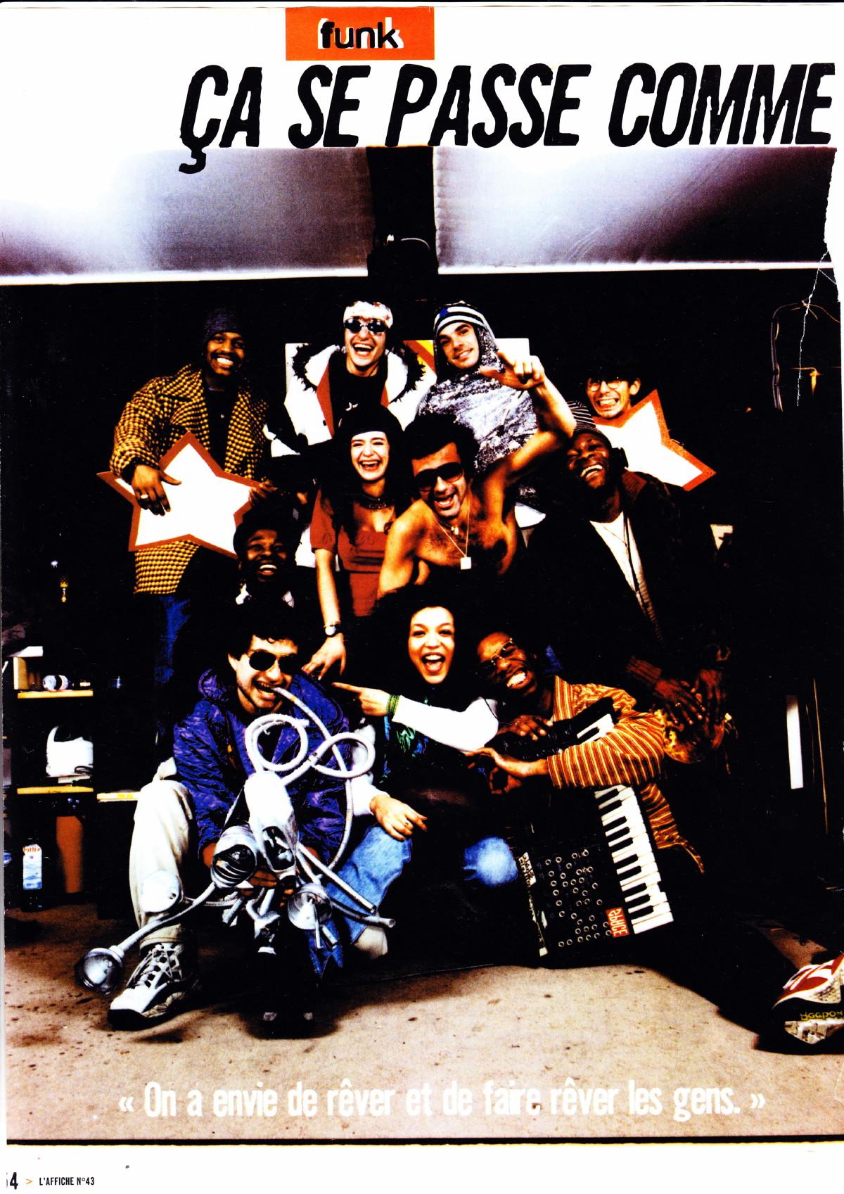 """MALKA FAMILY : """"Ça se passe comme ça chez les Malka"""" (""""L'Affiche"""", interview 1997, album """"Fotoukonkass"""") 15040809131917899513153137"""