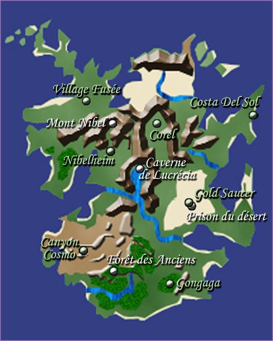 Gaïa - Continent de Corel