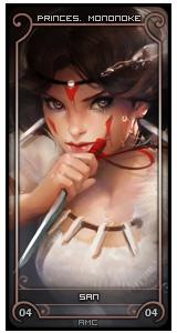 San [Princesse Mononoke] - Arawen 15041111004716358113160254