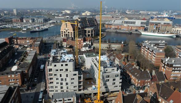 De Salengroplaats, de volgende architecturale vlek van Duinkerke? - Den draed 15041310332514196113169437