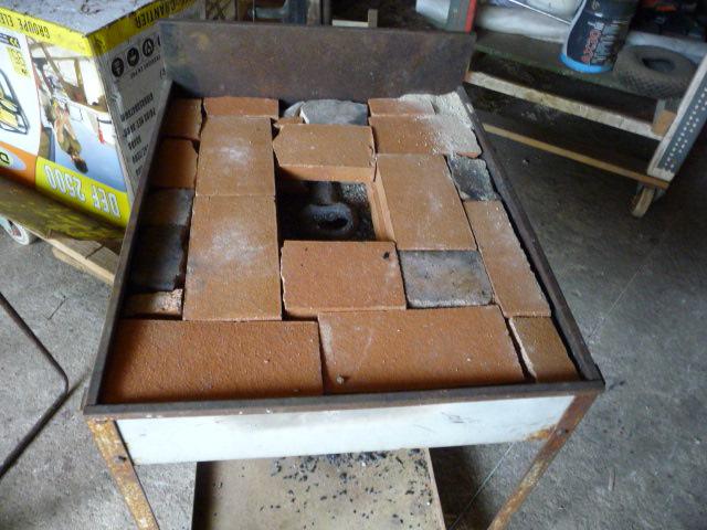 Plan Foyer De Forge : Construire un foyer de forge bushcraft