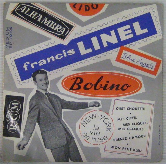 LINEL FRANCIS - C'est chouette - 45T (EP 4 titres)