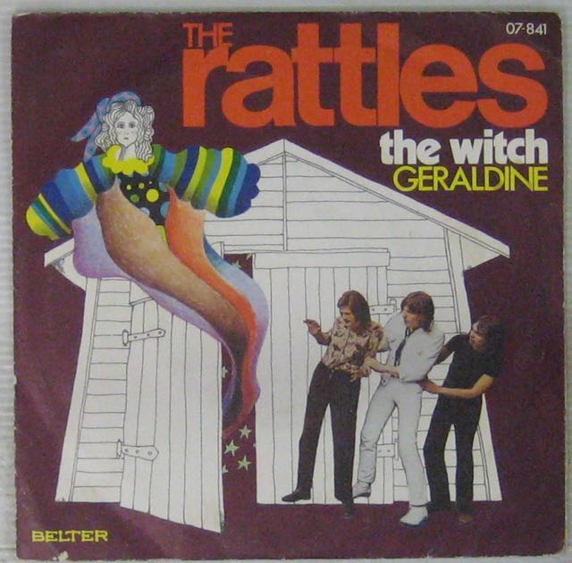 RATTLES - The witch/Geraldine - 7inch (SP)