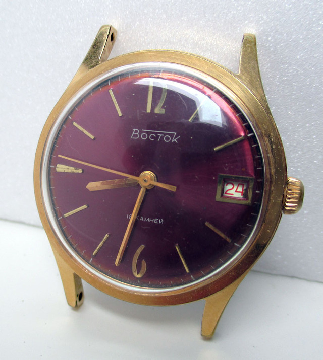 [VENTE TERMINEE] montre VOSTOK dresswatch année 1974 15050102312517735413223950