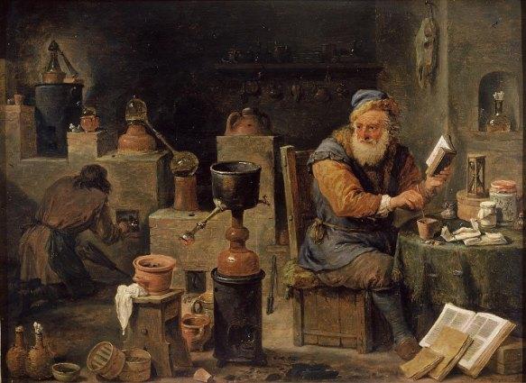 L'Alchimiste sous le regard des peintres 15050205300319075513228196