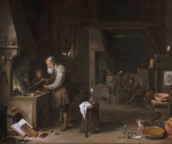 L'Alchimiste sous le regard des peintres 15050205320219075513228203
