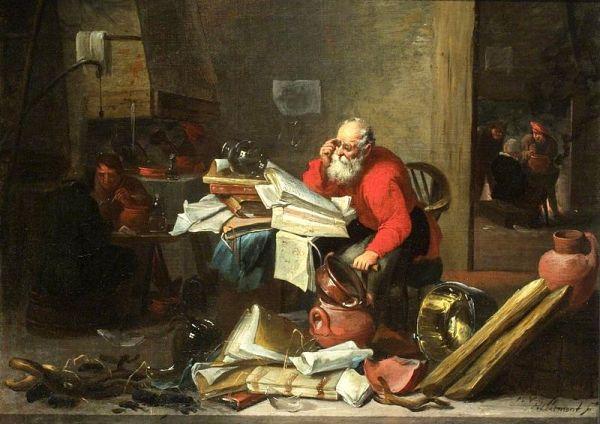 L'Alchimiste sous le regard des peintres 15050206275219075513228388