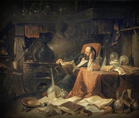 L'Alchimiste sous le regard des peintres 15050207065619075513228544