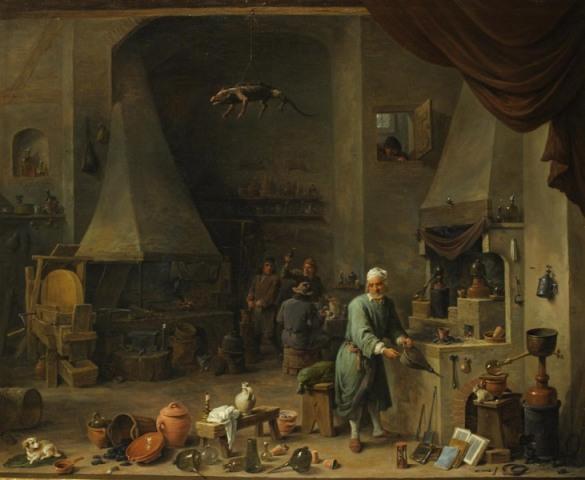 L'Alchimiste sous le regard des peintres 15050301152019075513230491