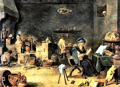 L'Alchimiste sous le regard des peintres 15050301225819075513230530