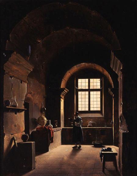 L'Alchimiste sous le regard des peintres 15050303060519075513231040