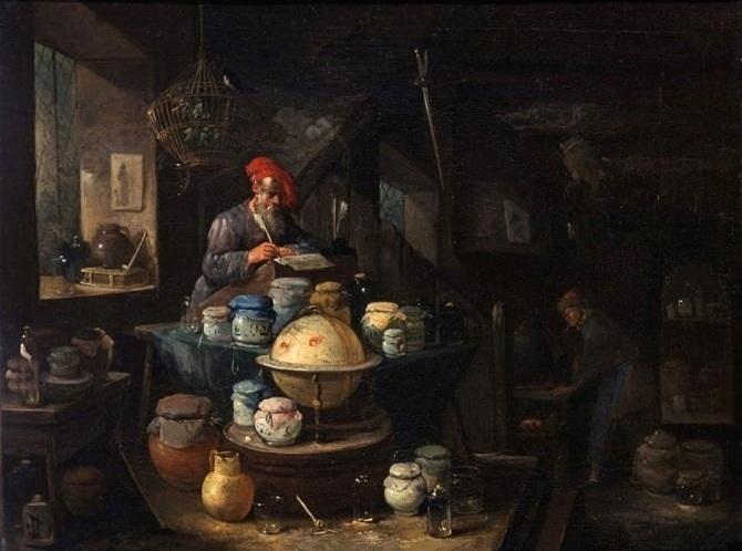 L'Alchimiste sous le regard des peintres 15050303551619075513231374