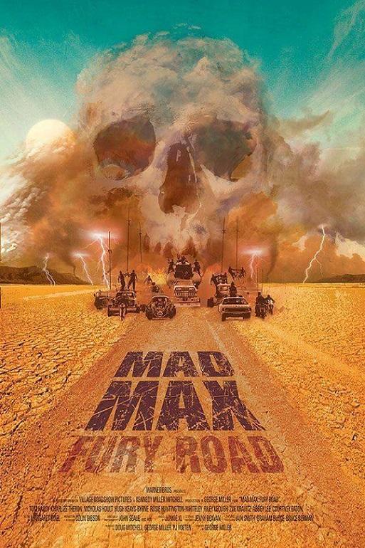 L'AFFICHE : MAD MAX FURY ROAD et PAN dans L'Affiche 15050309453215263613229867