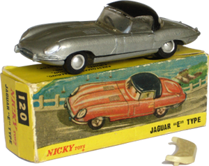 Jaguar type E Nicky-Toys
