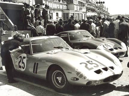 64. 24H du Mans - 15.6.63 - 250GTO - 4153 & 4293 - (9266)