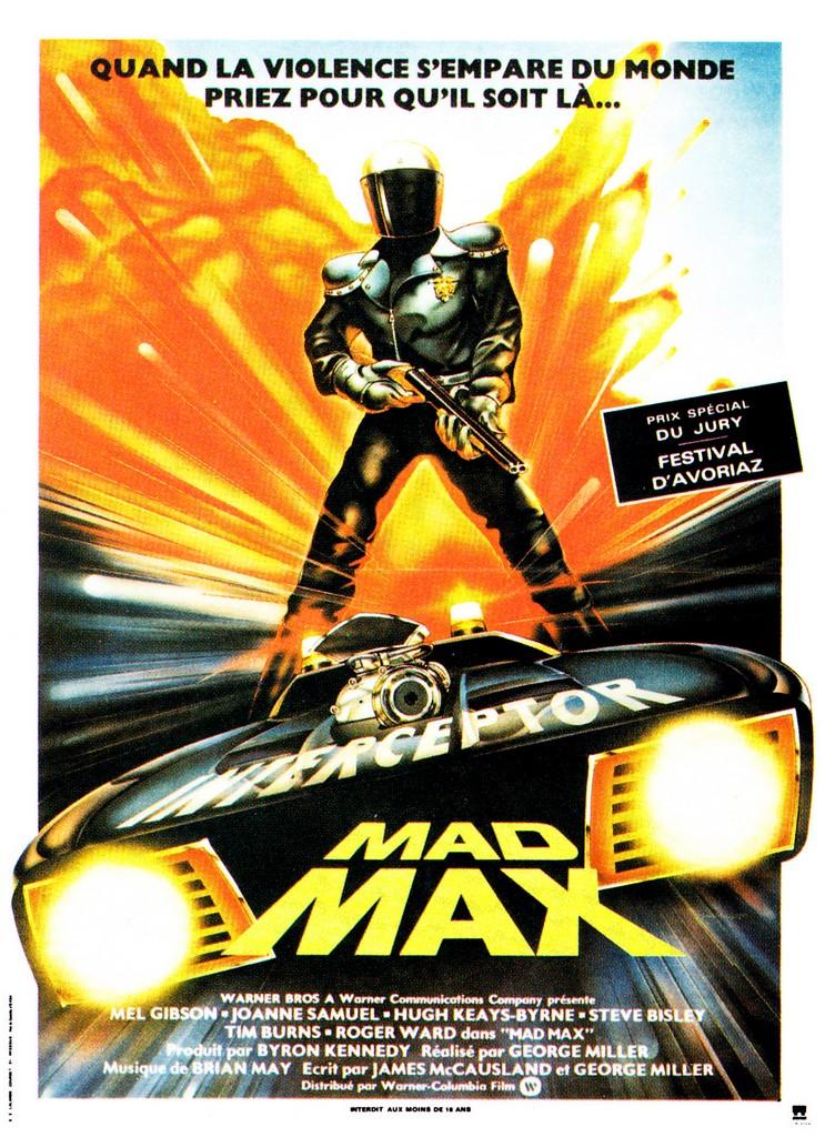 MAD MAX : DES AFFICHES dans CINÉMA 15050908365615263613249458