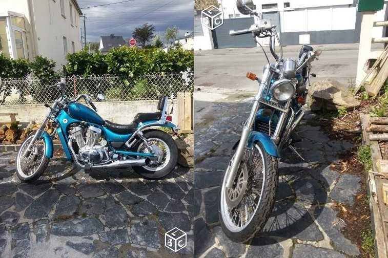 VS 600 GL bleue - Lanester (56) 1505140459112891813265896