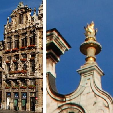 Bruxelles : Grand-Place, Parc Royal, Manneken'Pis... 15051509080019075513269713