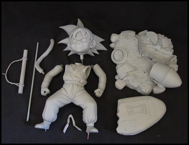 Kid Goku (DBZ) 1/4 15051602110516083613271147