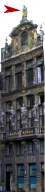 Bruxelles : Grand-Place, Parc Royal, Manneken'Pis... 15051609102919075513272564