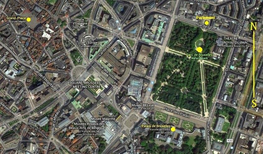 Bruxelles : Grand-Place, Parc Royal, Manneken'Pis... 15051609444119075513272839