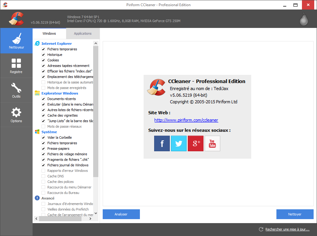Telecharger ccleaner comment ca marche - Performance will ccleaner