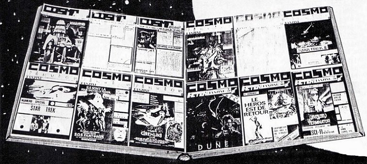 COSMOPAGE : UN AN DÉJÀ - NUMÉRO 9 - Août 1985  dans COSMOPAGE 15053102285115263613316103