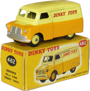Bedford 10 CWT van Dinky-Toys