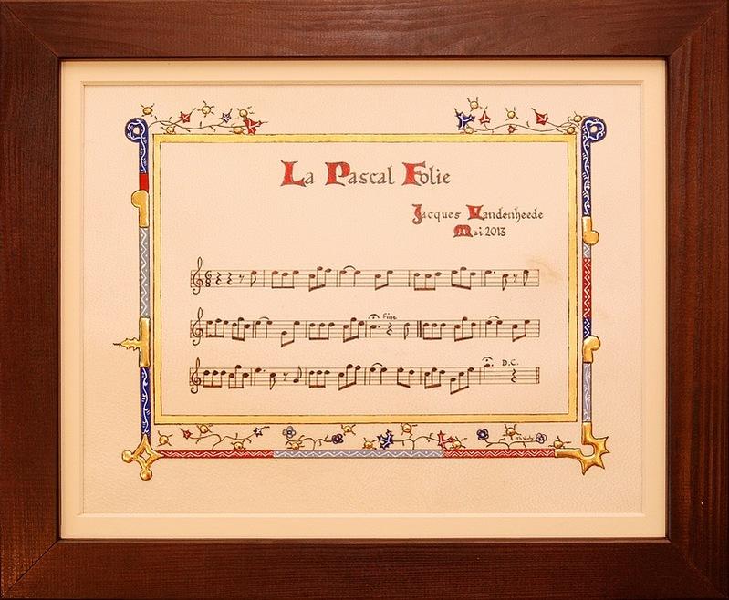 Pascal FOLIE, sonneur de trompe de chasse / Courcelles