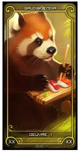 Œuvre 1 panda roux