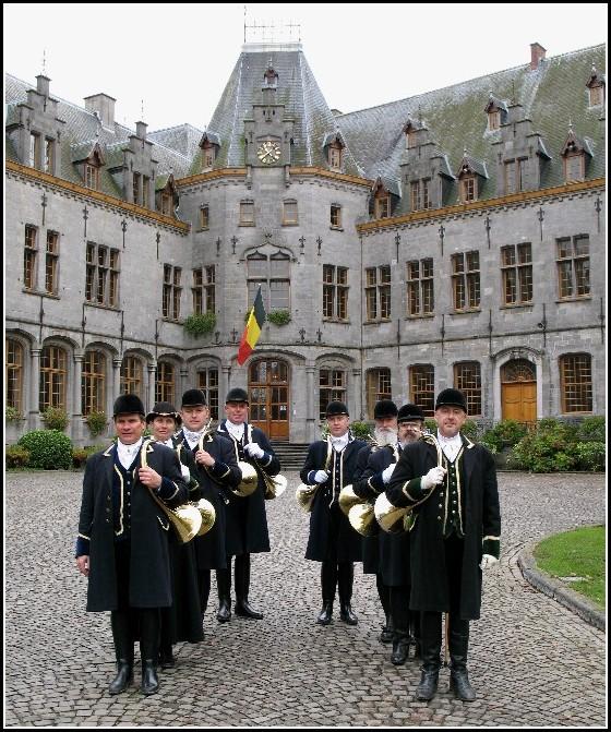 Veneurs de Sainte Marie-Madeleine au château d'Ham-sur-Heure, Belgique