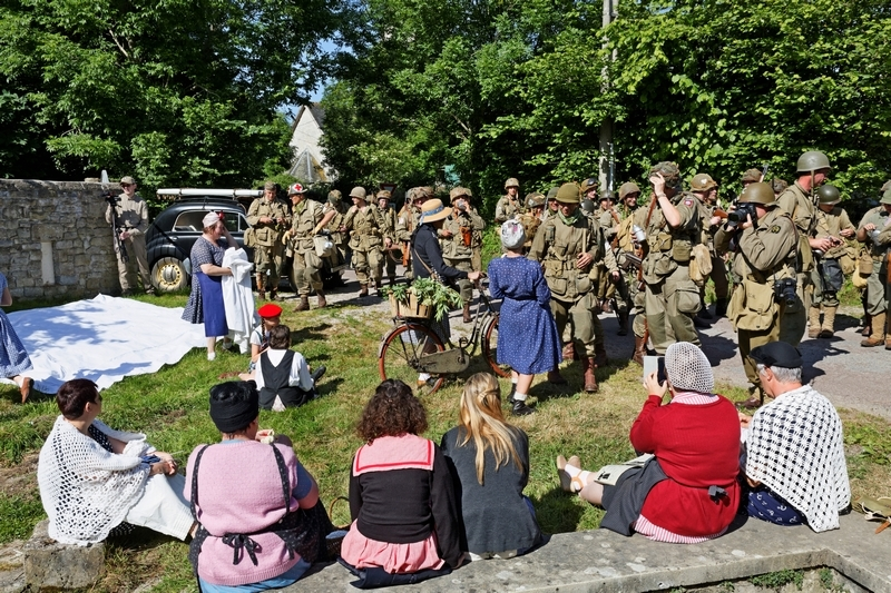 carentan liberty march juin 2015 reportage photos 1506101207007132813347748