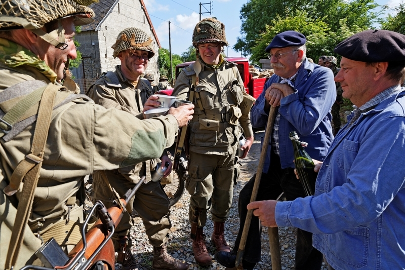 carentan liberty march juin 2015 reportage photos 1506101214097132813347790