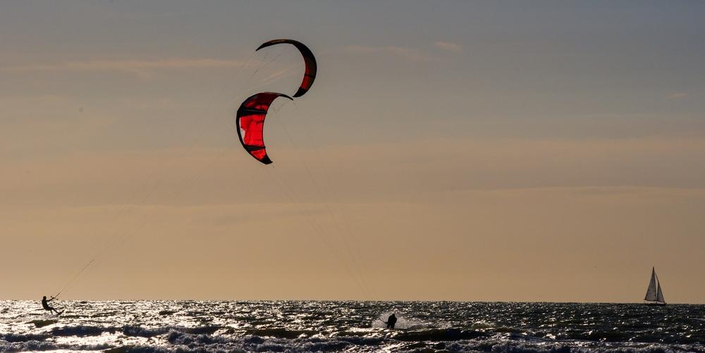 Vent et plage: kite surf 15061306183514373713362889