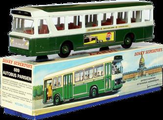 Berliet PCM-R Autobus parisien Dinky-Toys