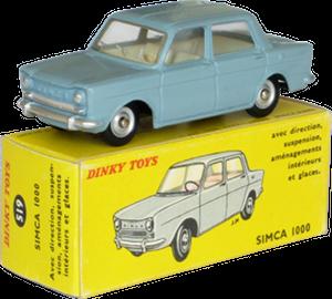 Simca 1000 Dinky-Toys
