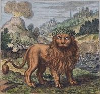 Lion / Deux lions 15070505080119075513421255