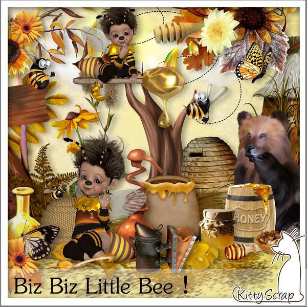 Biz biz little bee de Kittyscrap dans Juillet 15070512083819599813420166