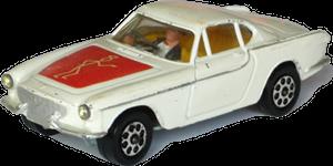 "Volvo P1800 ""Le Saint"" Corgi-Toys"