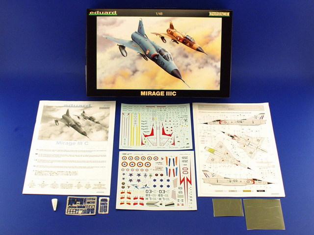 Mirage III C [Eduard 1/48] 15071007493310194413433559