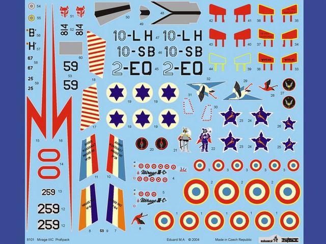 Mirage III C [Eduard 1/48] 15071007500010194413433571