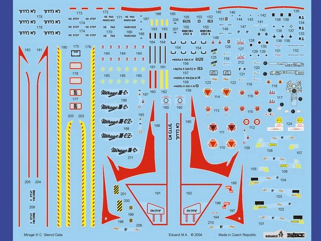 Mirage III C [Eduard 1/48] 15071007500310194413433572