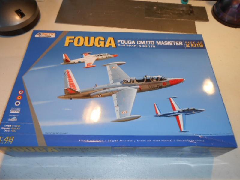 Fouga magister - Kinetic 1/48 1507210553316230013459939