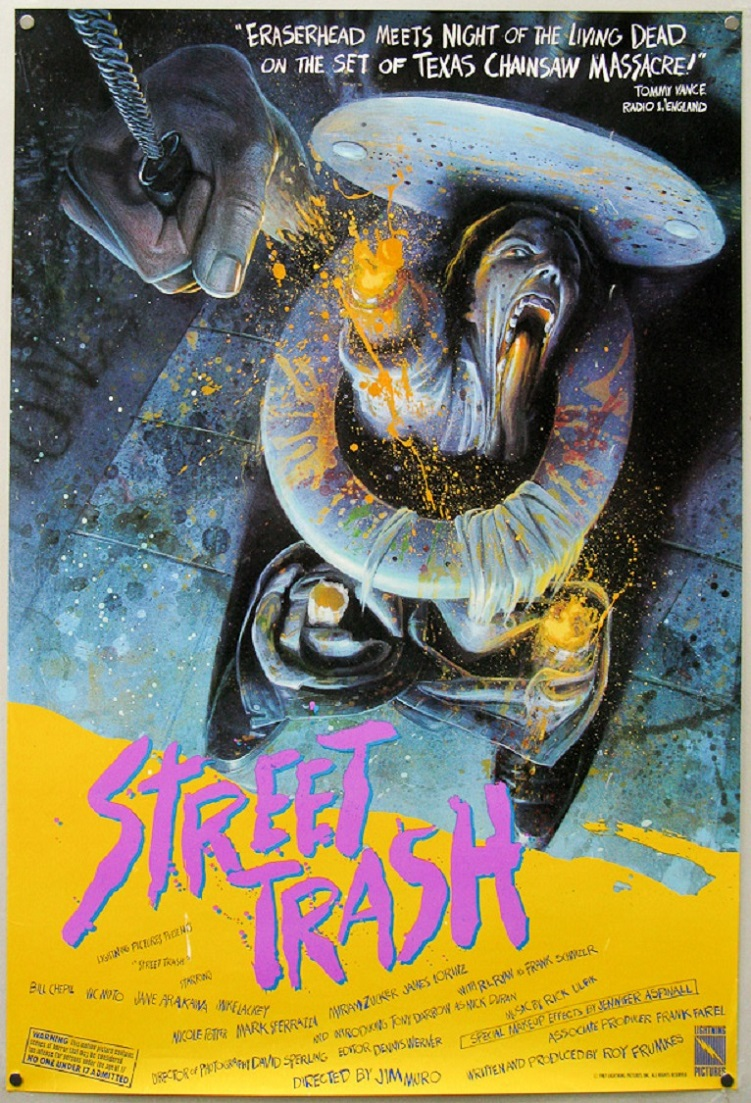 L'AFFICHE : STREET TRASH (1987) dans CINÉMA 15072108371715263613458338