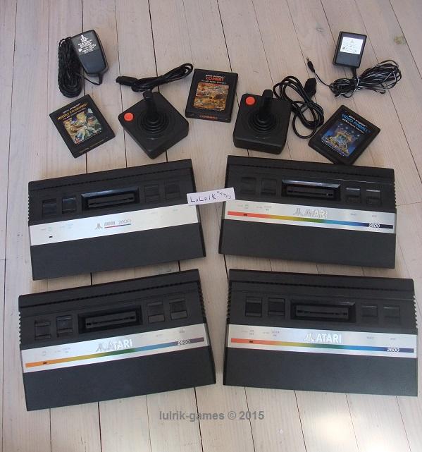 Ma collection d'Atari junior