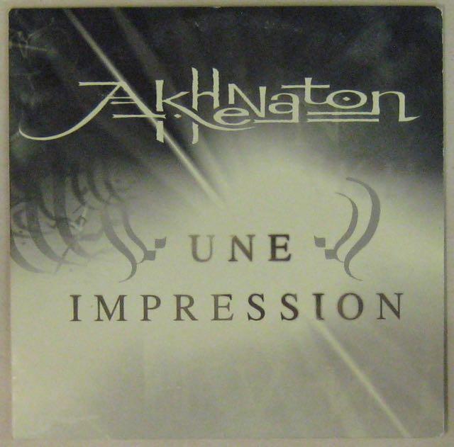 AKHENATON - Une impression - CD single