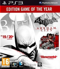 Batman : Arkham City - Game of the Y...