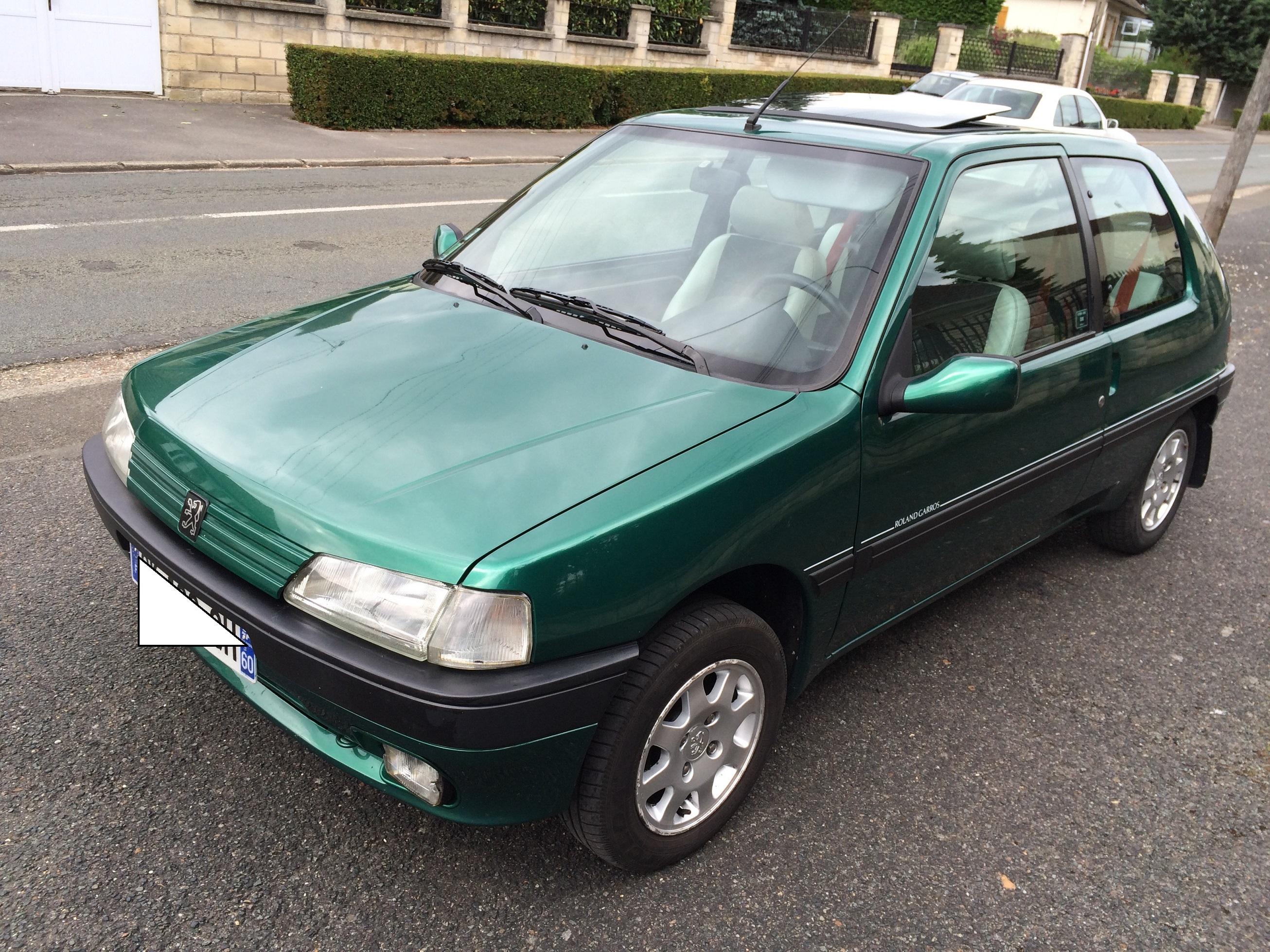 Peugeot 106 Roland Garros millesime  96 15081302434719934613505671