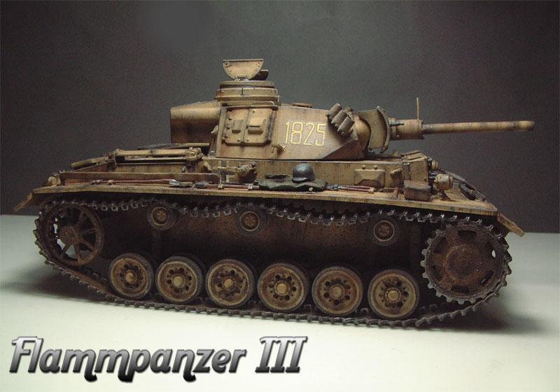 Flammpanzer III - [CyberHobby] - 1/35e  1508130338214769013505838