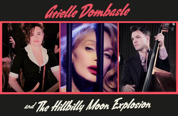 """ARIELLE DOMBASLE & THE HILLBILLY MOON EXPLOSION, """"Crazy Beats and Murder Ballads!"""" (2015) 15081612055917899513511846"""